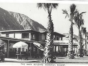 Historical Borrego Hotel: Hoberg Resort