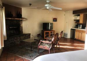 Borrego Springs Casita with fireplace