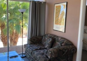 Borrego Springs suite with view